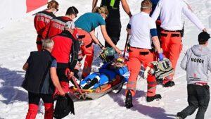 Andre Tande Wypadek w Planicy