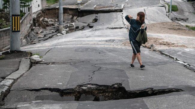 trzesienie ziemi japonia
