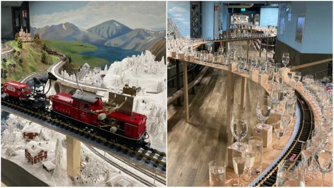 miniatur wunderland longest melody played on model train train and glasses tcm25 654284