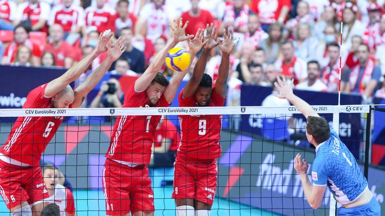 Polska w meczu półfinałowym ze Słowenią, przegrywa 1:3